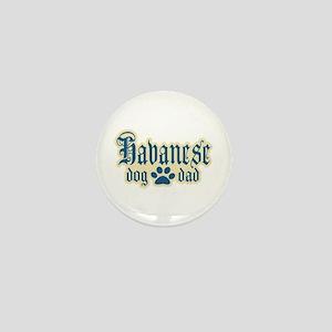 Havanese Dad Mini Button