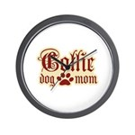 Collie Mom Wall Clock