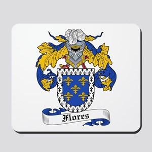 Flores Coat of Arms Mousepad