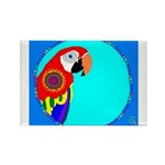 Parrot Rectangle Magnet