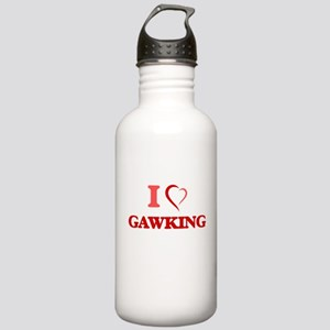 I love Gawking Stainless Water Bottle 1.0L