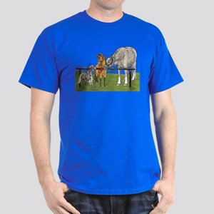 Hitched On Grass Dark T-Shirt