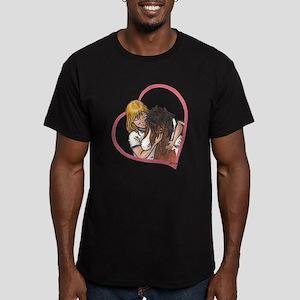 Heartline Luv BP Men's Fitted T-Shirt (dark)