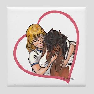 Heartline Luv BP Tile Coaster