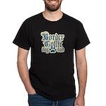 Border Collie Dad Dark T-Shirt