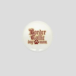 Border Collie Mom Mini Button