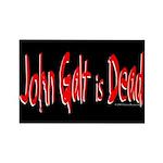 John Galt is Dead Rectangle Magnet