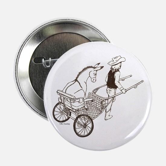 "Donkey Cart 2.25"" Button"