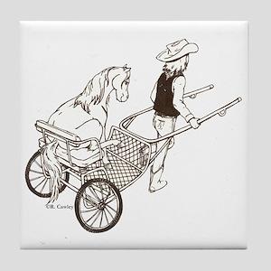 Mini In Cart Tile Coaster