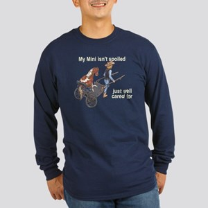 Mini Isn't Spoiled Long Sleeve Dark T-Shirt