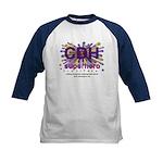 CDH Superhero Stars Logo for Girls Kids Baseball J