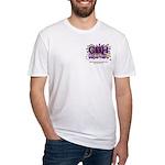 CDH Superhero Stars Logo for Girls Fitted T-Shirt