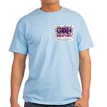 CDH Superhero Stars Logo for Girls Light T-Shirt