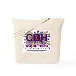 CDH Superhero Stars Logo for Girls Tote Bag