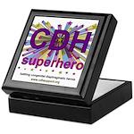 CDH Superhero Stars Logo for Girls Keepsake Box
