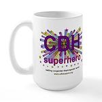 CDH Superhero Stars Logo for Girls Large Mug