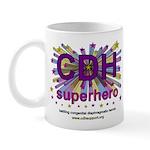 CDH Superhero Stars Logo for Girls Mug