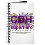 CDH Superhero Stars Logo for Girls Journal