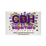 CDH Superhero Stars Logo for Girls Rectangle Magne