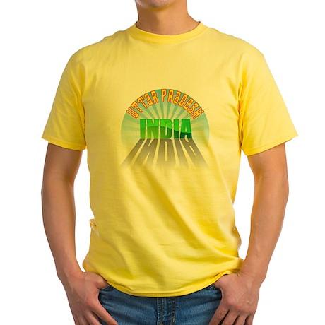 Uttar Pradesh Yellow T-Shirt