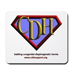 CDH Superhero Logo for Boys Mousepad