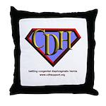 CDH Superhero Logo for Boys Throw Pillow