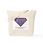 CDH Superhero Logo for Boys Tote Bag