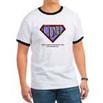 CDH Superhero Logo for Boys Ringer T