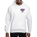 CDH Superhero Logo for Boys Hooded Sweatshirt