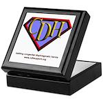 CDH Superhero Logo for Boys Keepsake Box