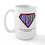 CDH Superhero Logo for Boys Large Mug