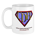 CDH Superhero Logo for Boys Mug