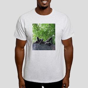 Sssssnakeman on Rock 1 Light T-Shirt