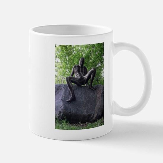 Sssssnakeman on Rock 3 Mug
