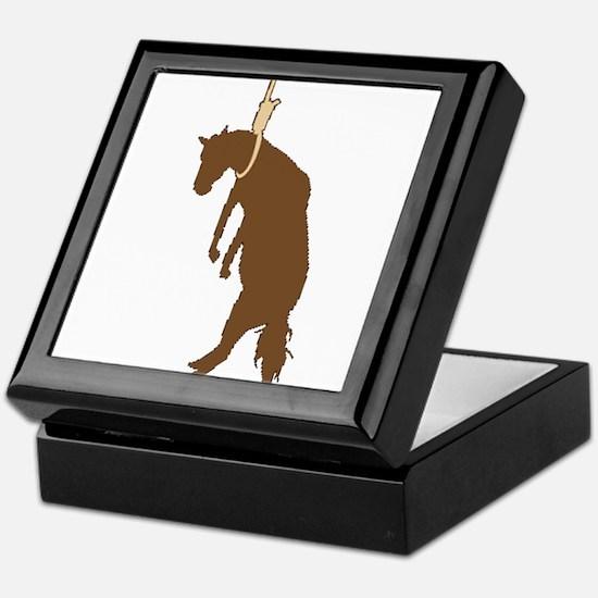 Hung like a horse Keepsake Box