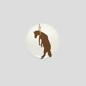 Hung like a horse Mini Button