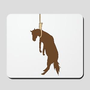 Hung like a horse Mousepad