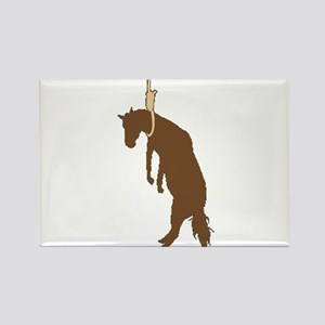 Hung like a horse Rectangle Magnet