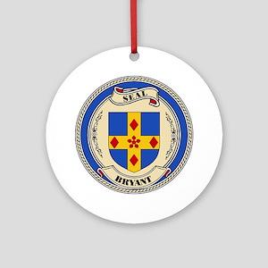 Seal - Bryant Ornament (Round)