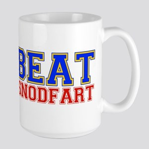 Beat Snodfart Large Mug