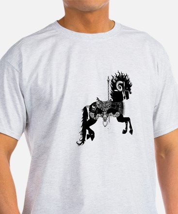 carousel horse from Hell T-Shirt