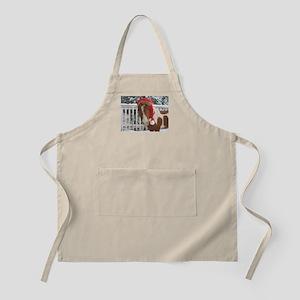 Santa Mini BBQ Apron