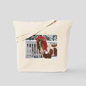 Santa Mini Tote Bag