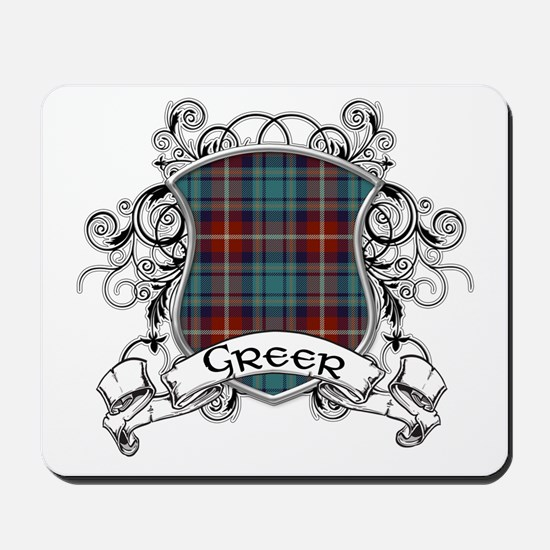 Greer Tartan Shield Mousepad