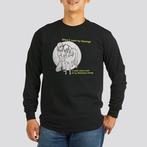 Mini Blessings Long Sleeve Dark T-Shirt