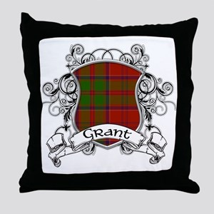 Grant Tartan Shield Throw Pillow