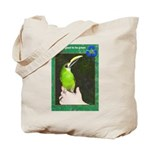 Toucanet Tote Bag: It's good to be green