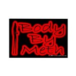 Body By Meth Rectangle Magnet