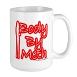 Body By Meth Large Mug