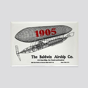 Baldwin Airship Co. Rectangle Magnet